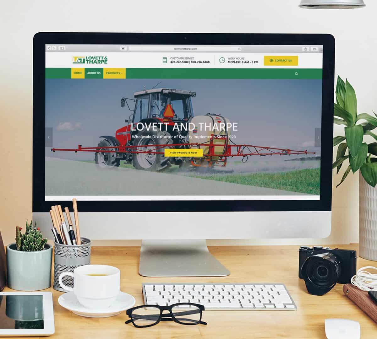 lovette and tharpe website mock copy